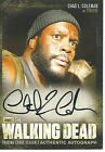 Walking Dead Trading Cards Season 3 Part 2 Chad Coleman Tyreese #A18 Autograph