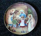 Cicely Mary Barker~Away in a Manger~Nativity~Jesus~Mary~Joseph~Plate~Christmas