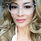 Vintage Cat Eye Clear Lens Transparent Sexy Frames Demi Betty Pin Up Eye Glasses