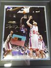 MICHAEL JORDAN UPPER DECK UDA AUTOGRAPH SIGNED WASHINGTON WIZARDS 16X20 PHOTO