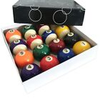 BRAND NEW 2  1 16 Inch Pool Billiards Balls Box Set of 16 for Pool Table Sale
