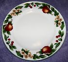 CADES COVE COLLECTION DINNER PLATES SET OF 4 APPLES, FLOWERS, CHERRY