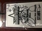 Emmitt Smith and Michael Irvin Training Camp 1999 Autograph