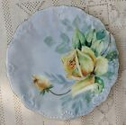 ANTIQUE EARLY 1900's LDBC FLAMBEAU LIMOGES FRANCE HAND PAINTED PORCELAIN PLATE