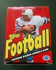 1981 TOPPS FOOTBALL UNOPENED WAX BOX with 36 PACKS NM MT