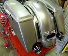 Custom Stretched ABS Bags Extended Saddlebags for Harley FLH FLHX CVO Slant