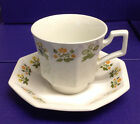 Johnson Bros 6 Cups 6 Saucers Hexagon HERITAGE  Ironstone #2