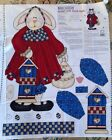 1 YD PANEL DAISY KINGDOM BUNNY GIRL DOOR EASTER DECOR CRAFT SEWING FABRIC