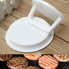 Hamburger Meat Beef Grill Burger Press Plastic Patty Maker Kitchen Mold Mould