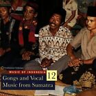 Gongs & Vocal Music From Sumat - Music Of Indonesia 12 (1996, CD NEU)
