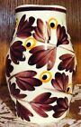 SMF Schramberg Hand Painted German Art Pottery Vase