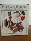 Fitz & Floyd Santa's Sweets Musical Figurine Tune Jolly Old St Nick 2005 NEW