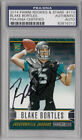 BLAKE BORTLES SIGNED 2014 PANINI STARS #110 ROOKIE RC CARD PSA DNA SLABBED AUTO