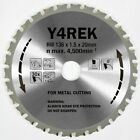 5 (five) of 136mm x 20 x 36T METAL CUTTING SAW BLADE for Makita Panasonic
