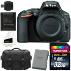 Nikon D5500 242MP Digital SLR Body + Case + Spare Battery + 32GB Top Bundle