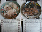 1988 Knowles Cat Collector Plate by Amy Brackenbury