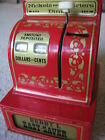 Vtg. Buddy L Easy-Saver 3 Coin Register Bank ..Quarter, Nickel & Dime/ VGC