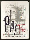 PLAYTIME PLAY TIME 1967 Jacques Tati French 24x32 poster Filmartgallery