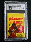 *RARE* 1975 TOPPS PLANET OF THE APES UNOPENED WAX PACK GRADED GAI 7.5