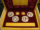 Beijing 2008 Olympics Gold & Silver 6 Coin Set Series I 2/3 oz gold 4 oz silver