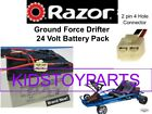 New 24V Battery Pack for Razor Drifter Ground Force Go Cart Kart With Harness