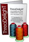THREADELIGHT 260 CONES POLYESTER MACHINE EMBROIDERY THREAD 1100yds 40wt