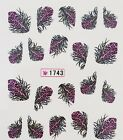 FEATHER WATER TRANSFER NAIL STICKER NAIL ART TATTOO DECAL