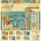 Graphic 45 12x12 Worlds Fair Double Sided Paper Pad
