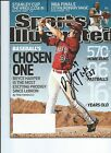 MVP CHOSEN ONE BRYCE HARPER SIGNED AUTO SI ROOKIE AUTOGRAPHED PSA DNA JSA READY