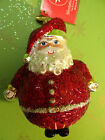 Christopher Radko Ho Ho Harlequin Glass Blown Ornament