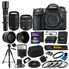 Nikon D7100 DSLR Camera 9 lens 32GB Kit 18 55 VR 70 300mm 500mm +More Top Value