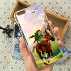 The Legend of Zelda Back Phone Case Cover For iPhone 5s 5c 6/6s 6/6s 7 8 Plus x