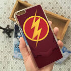 The Flash Logo Back Skin Phone Case Cover For iPhone 4/4s 5/5s 5c 6/6s 7 Plus