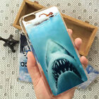 Jaws Shark Plastic Back Phone Case Cover For iPhone 4s 5/5s 5c 6/6s 7 8 X Plus