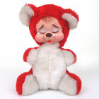 White RUSHTON Star Creations RUBBER FACE CRYING STUFFED TEDDY BEAR