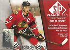 2014-15 UD UPPER DECK SP GAME USED HOCKEY HOBBY BOX FREE SAME DAY PRIORITY SHIP
