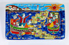 NEW TRAY DE SIMONE - 43x36 CM - MADE IN ITALY - HAND PAINTED