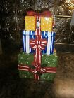 VINTAGE~STACKED CHRISTMAS PRESENTS~ COOKIE/TREAT JAR