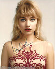 IMOGEN POOTS SIGNED AUTHENTIC 'GREEN ROOM' 8X10 PHOTO w/COA SEXY ACTRESS