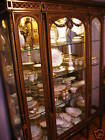 Antique French Louis XIV  Carved Gilt Wood Vitrine/curio/china cabinet