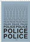 1/24 1/12 1/43 1/18 1/6 Scale Police Characters Car Model kit Water Slide Decal