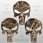 Punisher Decal Max 5 Camo Skull Sticker Choose Size