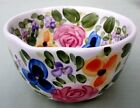 Tabletops Unlimited *MARIAM'S GARDEN* Hand Painted Coupe Cereal Bowl