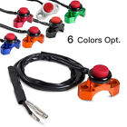 Engine Kill/Starter Switch Fits Off-Road Motorcycles Enduro ATV Quard 4 Colors