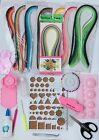 New Quilling Kit Template Board Papercraft Tool Glue Pins Paper Set Cardmaking