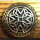 CELTIC Mythology Symbol BRASS CONCHOS Biker Wallet Bag Cloth Part Ornament Craft