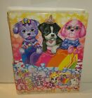 Lisa Frank Puppies Puzzle Keeper Binder With Puzzles  Plus 400 Stickers
