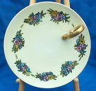 """"""" PLATE WITH SINGLE HANDLE HAND PAINTED"""