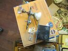 1 SET OF STARBURST AND PORCELAIN DOOR KNOB WITH MORTISE LOCK AND COVERS