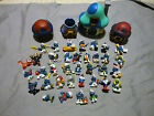 Large Smurfs Lot 32 Figures + Houses Vintage New Schleich Peyo